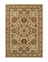 Dalyn Rugs Traditional Floral Border Print Wembley Collection Area Rug