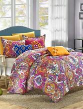 Chic Home Design Mumbai 8-pc. Reversible Microfiber Bed in a Bag