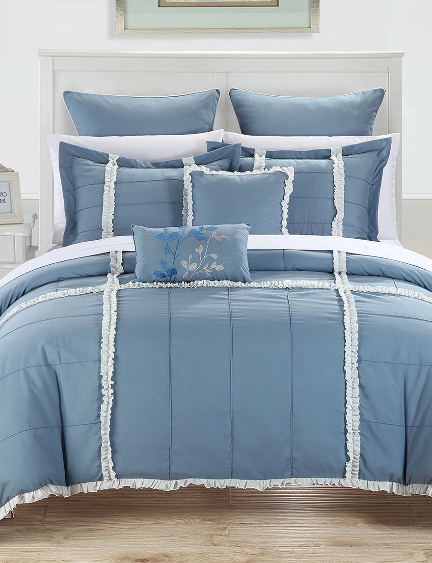chic home design 7 pc legend blue microfiber comforter superior home design comforter part 5 superior home