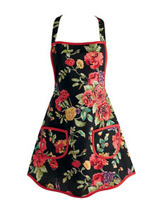 Design Imports Wild Rose Vintage Apron