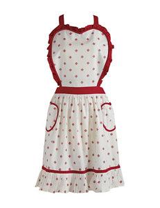 Design Imports Heart Bodice Vintage Apron