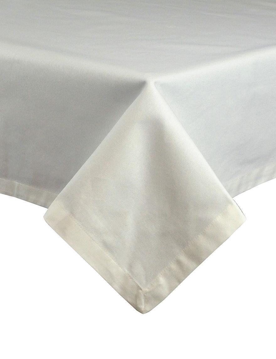 design imports classic white restaurant quality cotton table