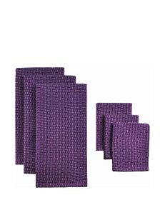 Design Imports 6-pk. Plaid Dishtowel Set