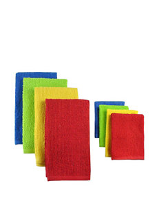 Design Imports 8-pk. Multicolored Dishtowel Set