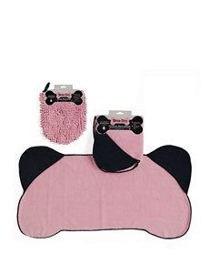 Design Imports 2-pc. Pet Towel & Mitt Set