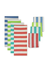 Design Imports 8-pk. Cabana Stripe Dishtowel Set