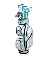 Tour Edge Lady Edge Teal Blue LH Full Golf Box Set