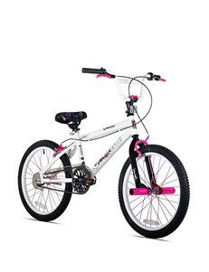 Kent Bikes Pink & White 20 Inch Razor Angel Bike – Girls