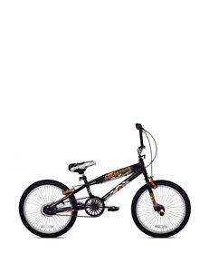 Kent Bikes Black & Silver 20 Inch Razor Aggressor Bike – Boys