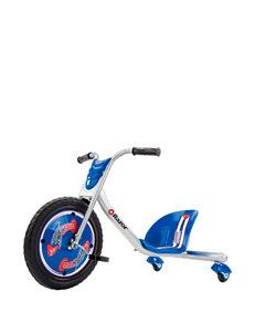 Razor Blue RipRider 360 Caster Trike