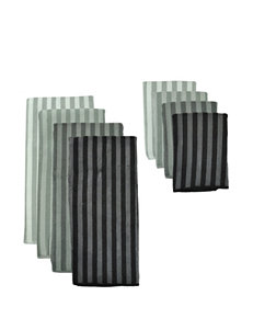 Design Imports Stripe Dish Towels Kitchen Linens