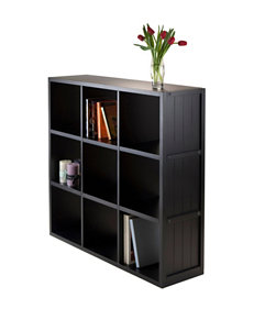 Winsome Wood Timothy Collection 3 x 3 Cube Shelf