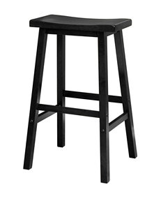 Winsome Black Bar & Kitchen Stools Kitchen & Dining Furniture