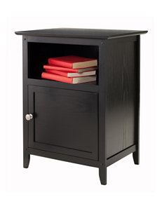 Winsome Black Night Stands Bedroom Furniture