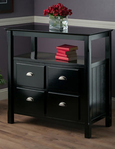 Winsome Black Dressers & Chests Living Room Furniture