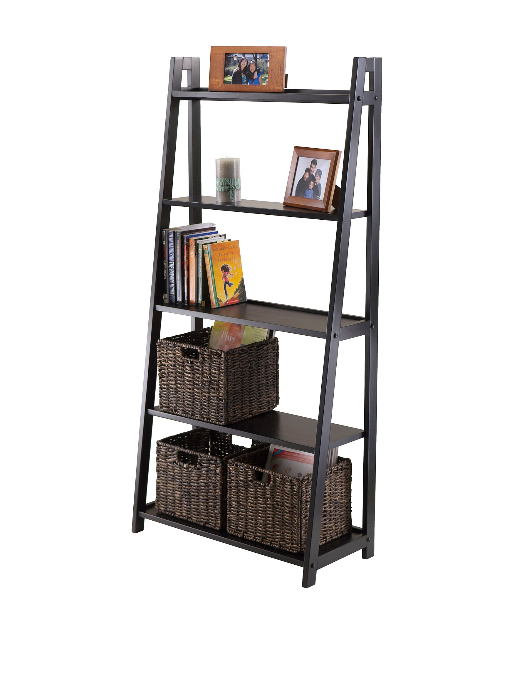 Winsome Black TV Stands & Entertainment Centers Living Room Furniture