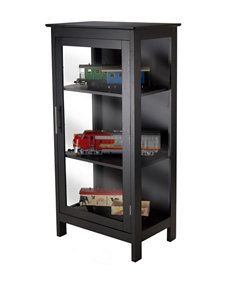 Winsome Black Cabinets & Cupboards Living Room Furniture