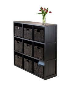 Winsome Black Bookcases & Shelves Home Office Furniture