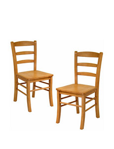 Winsome Tan Dining Chairs Kitchen & Dining Furniture