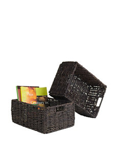 Winsome Set of 2 Granville Medium Collapsable Basket