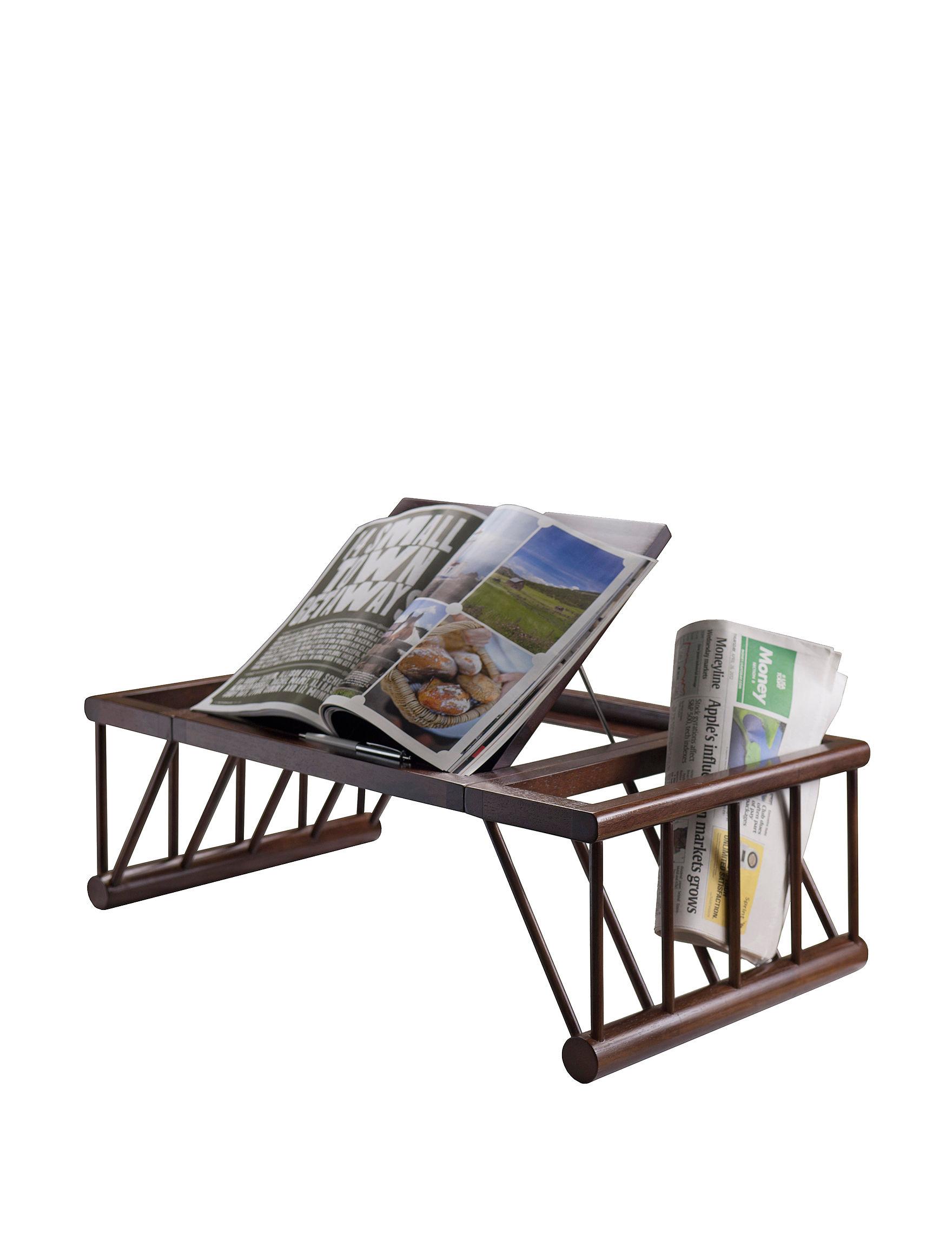 Winsome Dark Brown Desks Home Office Furniture