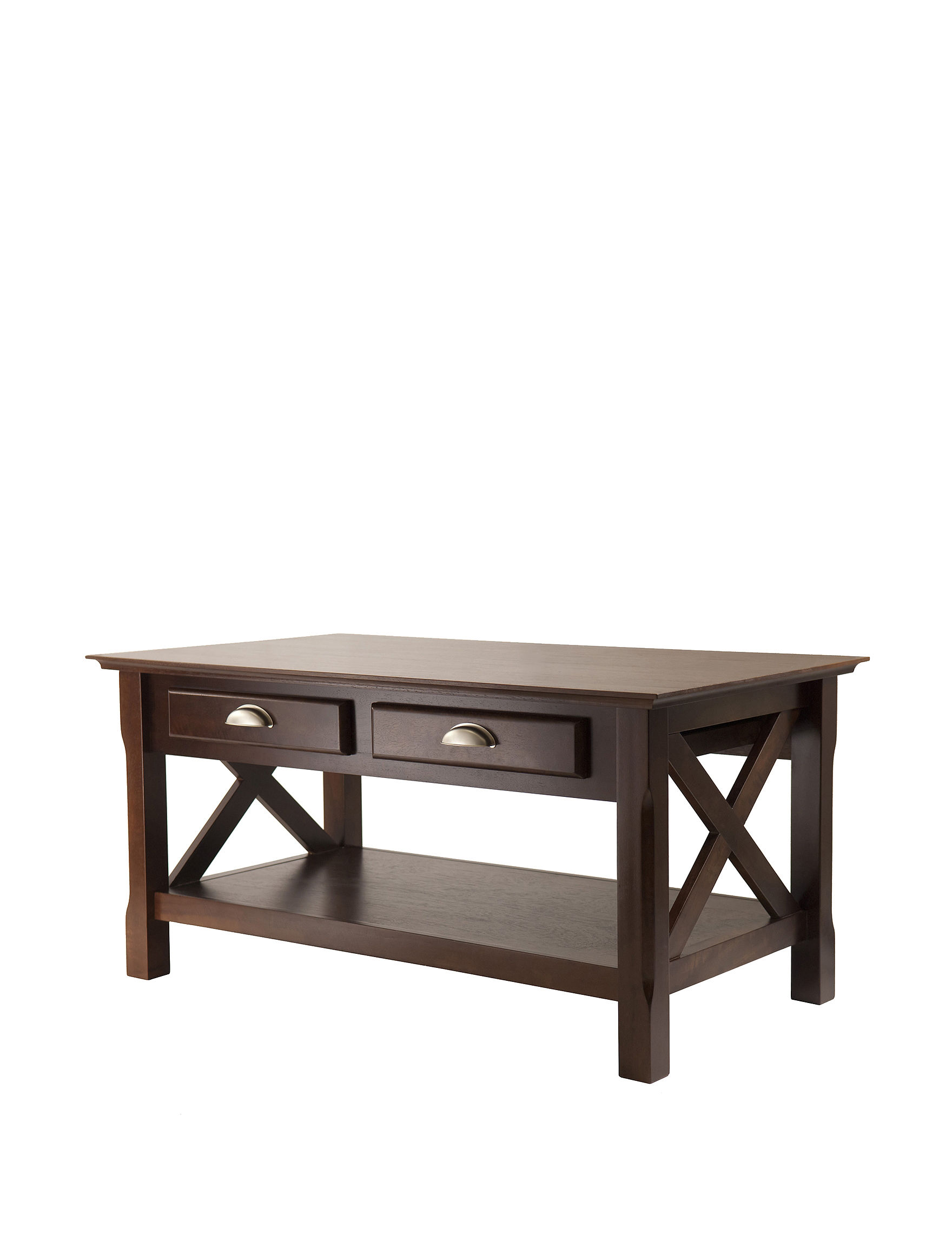Winsome Xola 2 Drawer Coffee Table Stage Stores