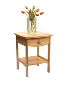 Winsome Curved End Table