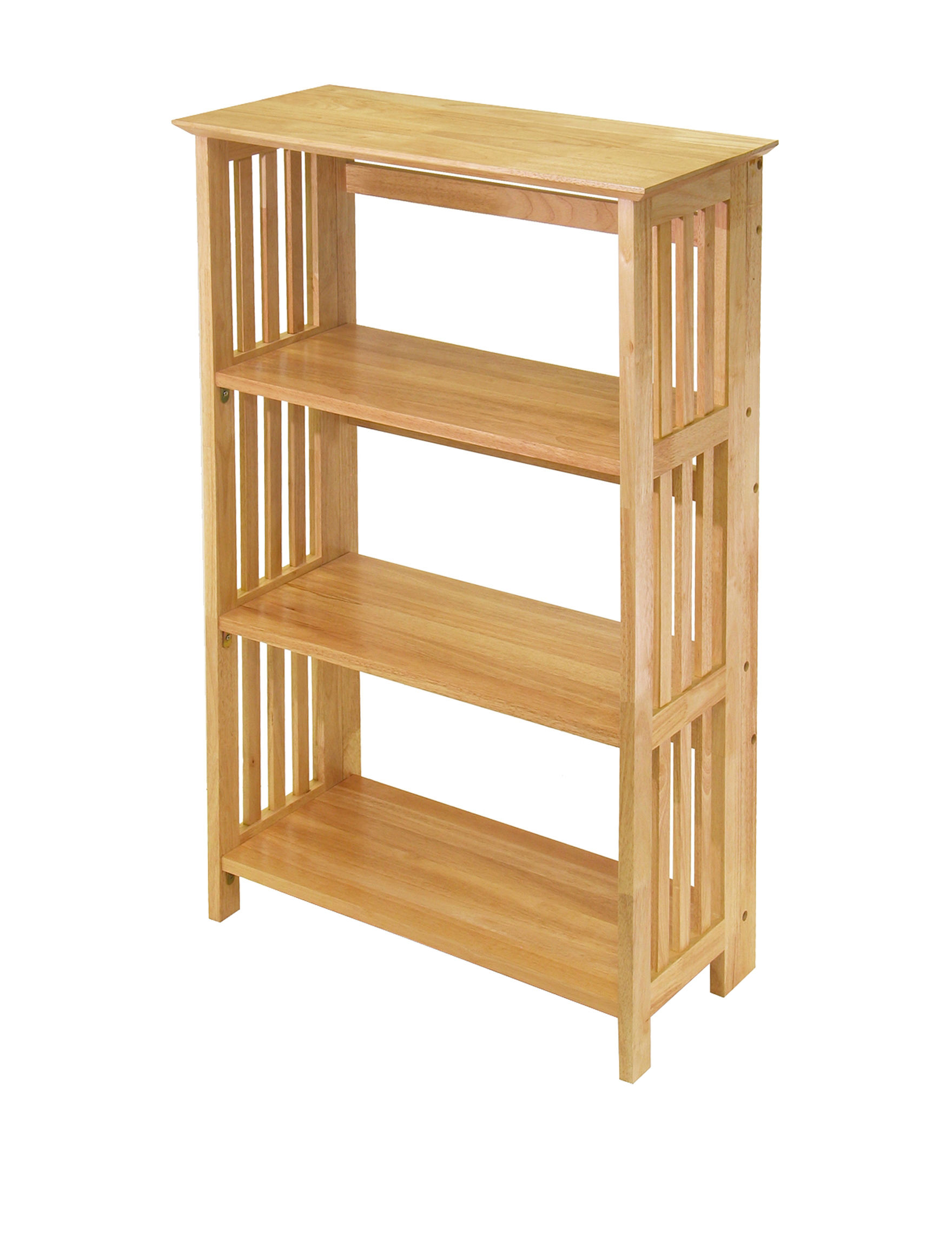 Winsome Tan Bookcases & Shelves Storage Shelves Living Room Furniture