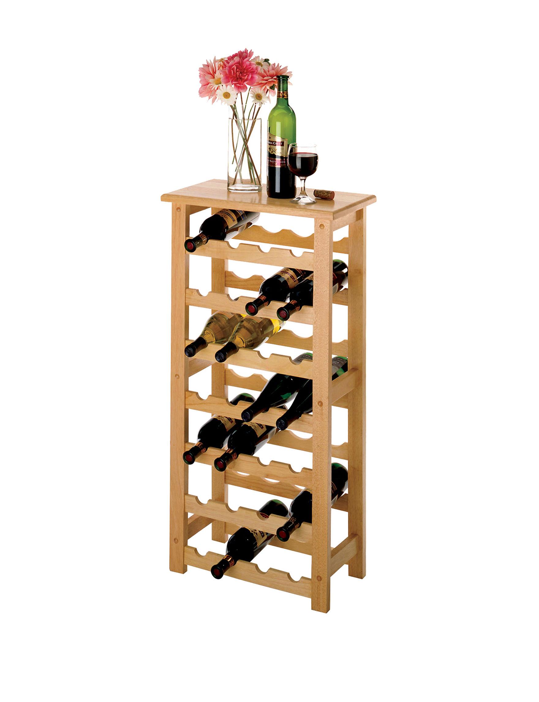 Winsome khaki Bar & Wine Storage Kitchen & Dining Furniture