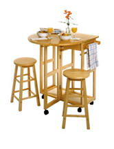 Winsome Drop Leaf Space Saver Table