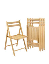 Winsome Set of 4 Folding Chairs