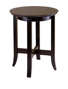 Winsome Chocolate Accent & End Tables Kitchen & Dining Furniture