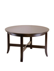 Winsome Chocolate Coffee Tables Living Room Furniture