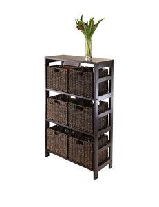 Winsome Espresso Bookcases & Shelves Living Room Furniture