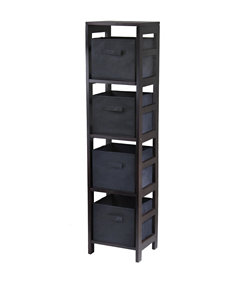 Winsome Espresso Cubbies & Cubes Bedroom Furniture