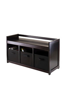 Winsome 4-pc. Addison Storage Bench Set