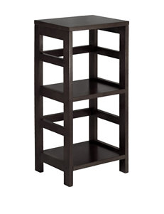 Winsome 2-Tier Leo Book & Storage Shelf