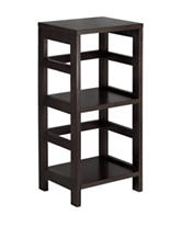 Winsome 2-Tier Leo Book & Storage Shelf
