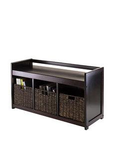 Winsome 4-pc. Addison Storage Bench