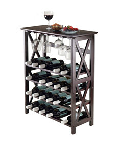 Winsome Brown Wine Racks Kitchen & Dining Furniture