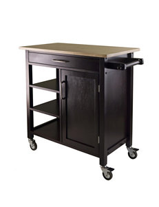 Winsome Brown Kitchen Islands & Carts Kitchen & Dining Furniture