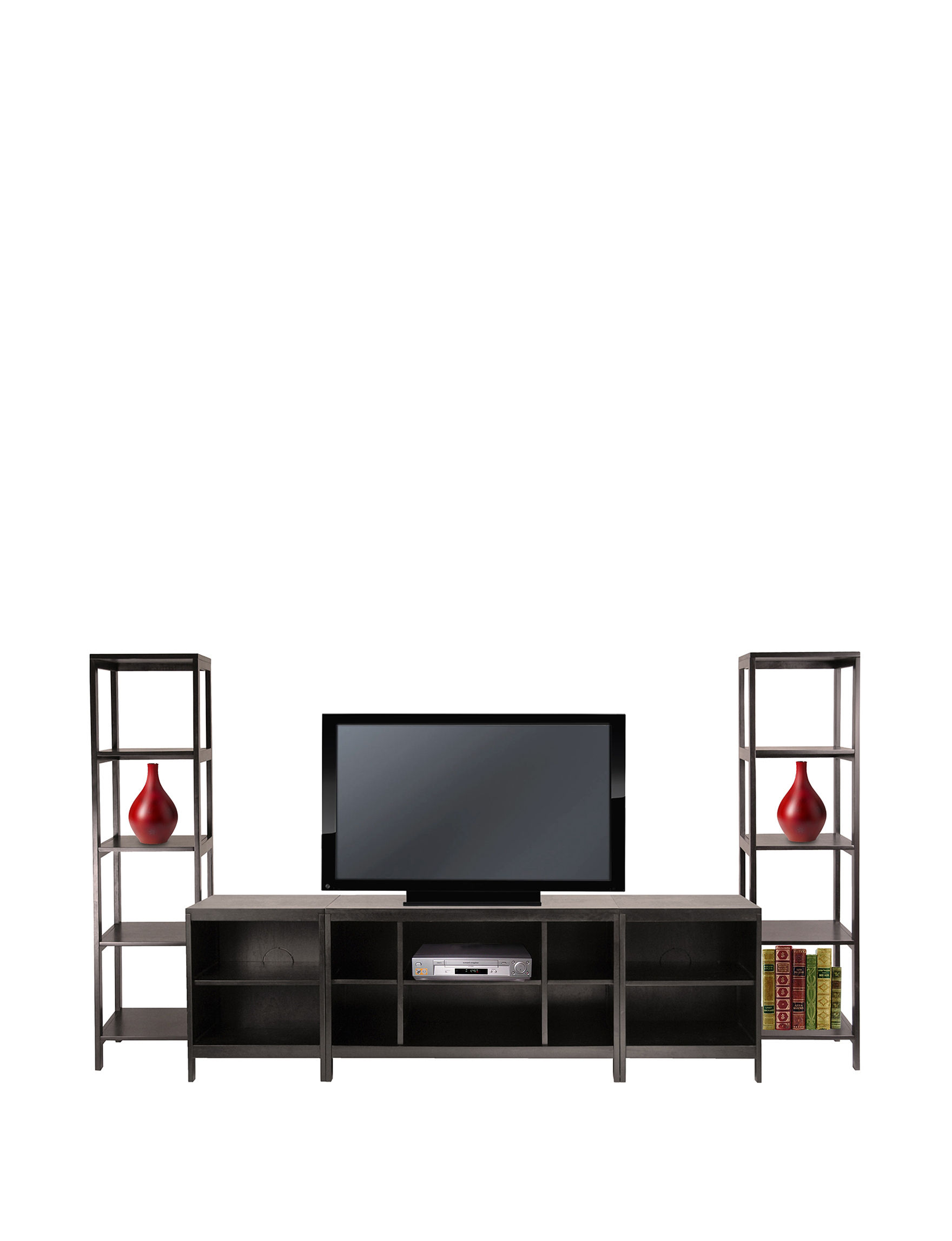 Winsome Chocolate TV Stands & Entertainment Centers Living Room Furniture
