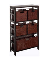 Winsome 6-pc. Leo Shelf & Basket Set