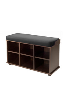 Winsome Chocolate Ottomans & Benches Living Room Furniture
