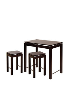 Winsome 3-pc. Linea Pub Table Set