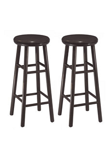 Winsome Set of 2 Swivel 30 Inch Stools