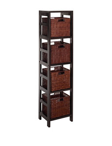 Winsome Chocolate Bookcases & Shelves Home Office Furniture