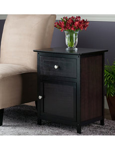 Winsome Brown Night Stands Bedroom Furniture