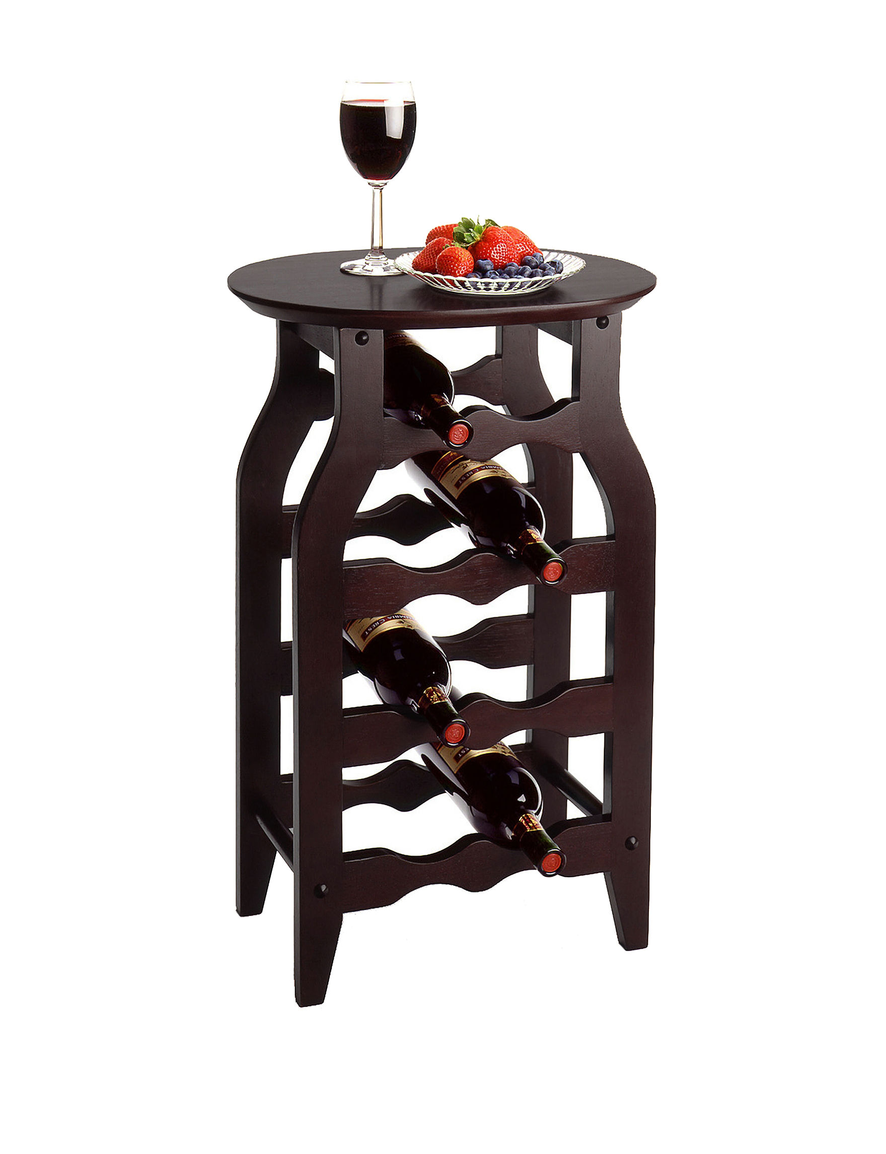 Winsome Chocolate Wine Racks Living Room Furniture