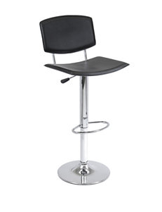 Winsome Spectrum Curved Seat Airlift Stool